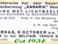Aankondiging lezing 1934